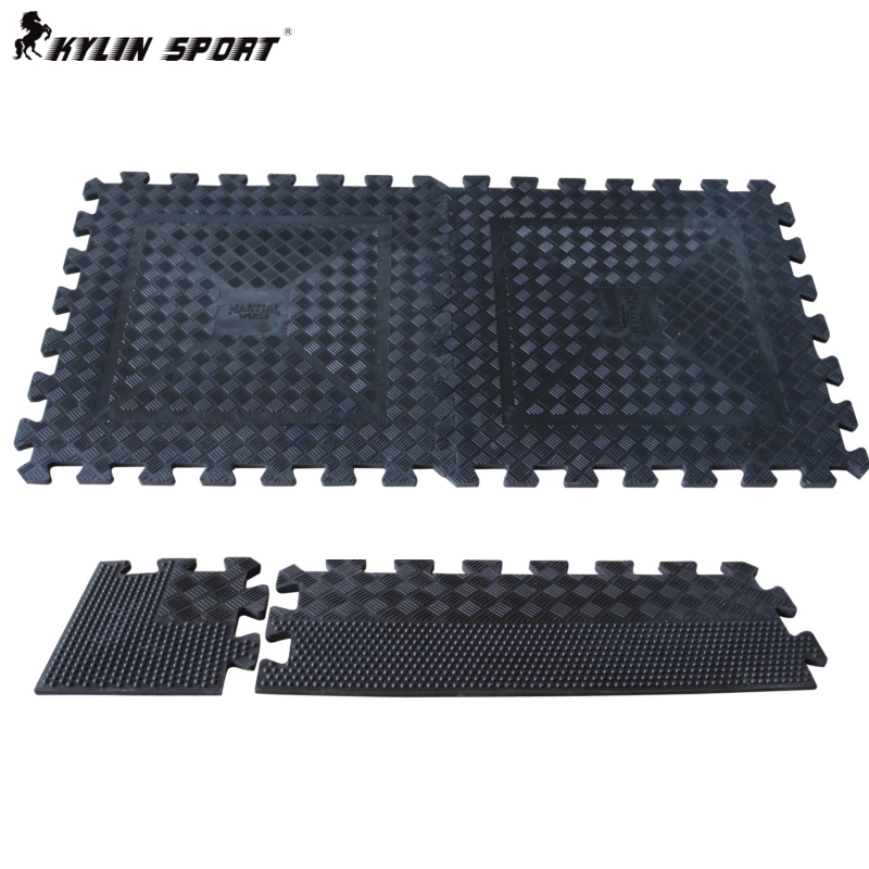 Free weights gym soundproofing rubber pad fell to the floor mat color movement resistance of super thick gel