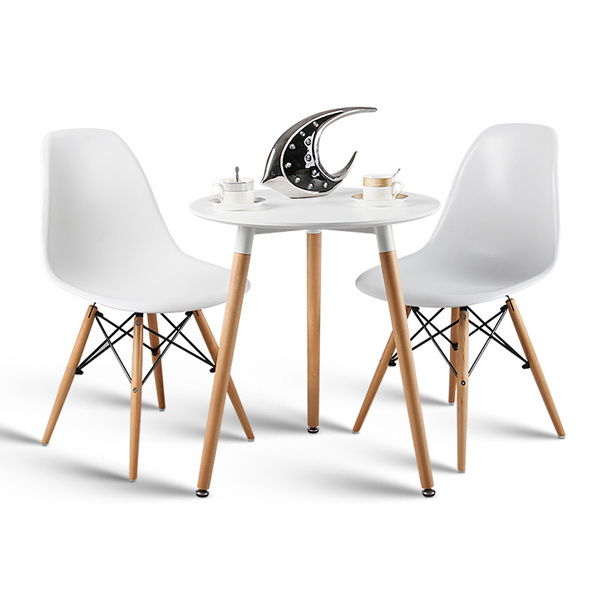 Dinette combination of fashion casual and simple small apartment Ikea square table negotiating table dinner table Eames coffee table