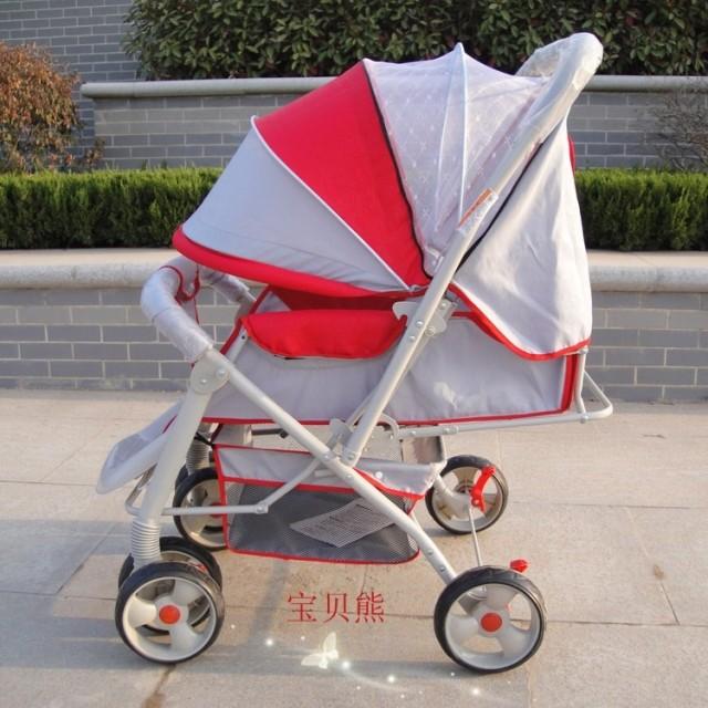 童星超大婴儿手推车童车可平躺折叠BB车 优惠