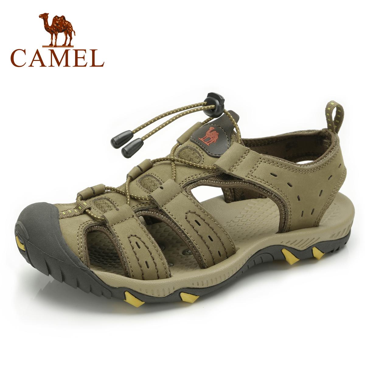 camel骆驼 男凉鞋 正品2013新品 沙滩鞋 户外休闲 男款 82396604