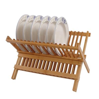 味老大竹子沥水碗碟架WDJ-01 沥水碟架 竹子滴水盘架 厨房碟架