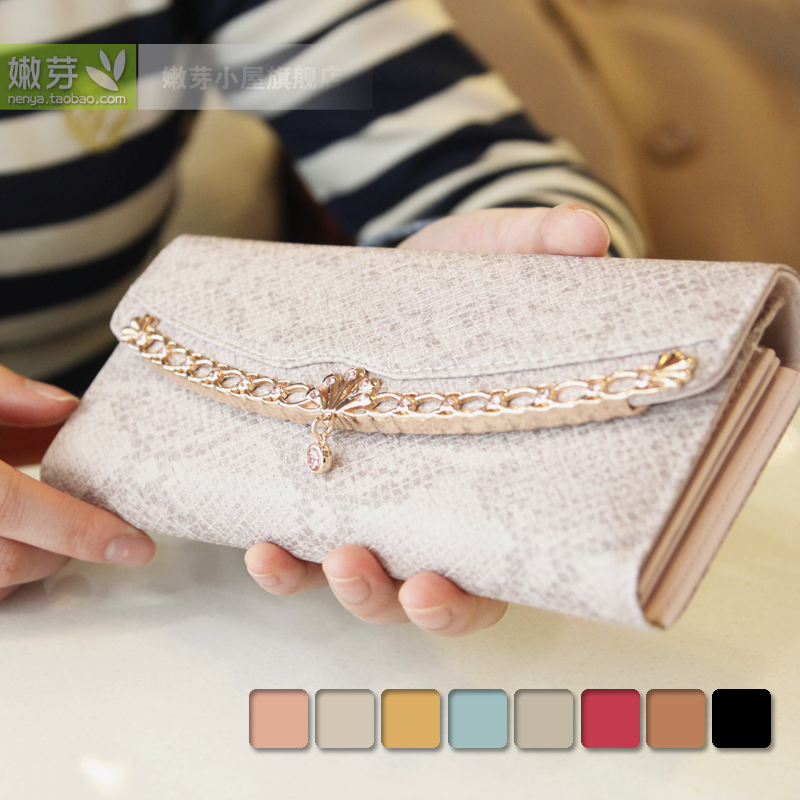 бумажник 2014 новых европейских и американских моды кошельки долго складной кошелек женщин оригинальные корейские Винтаж кожаную куртку
