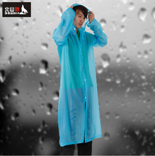 Beishan Wolf ultra-thin drifting raincoat poncho than one-off conjoined at the outdoor hiking raincoat rain gear