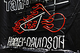 HARLEY DAVIDSON HOT FIRE MOTORCYCLE AIR NEON LIGHT