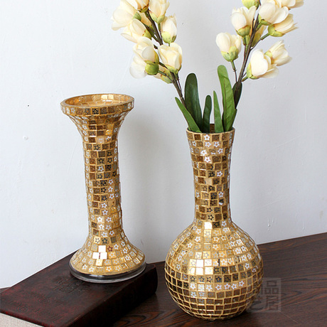 Arts Habitat   goods is still European spindle drop clear glass vases home decoration fashion store event decoration