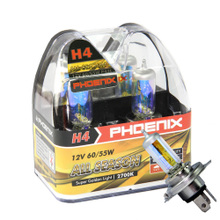 PHOENIX - fly nikos H4 60/55 w 12 v gold eye car bulbs to pack