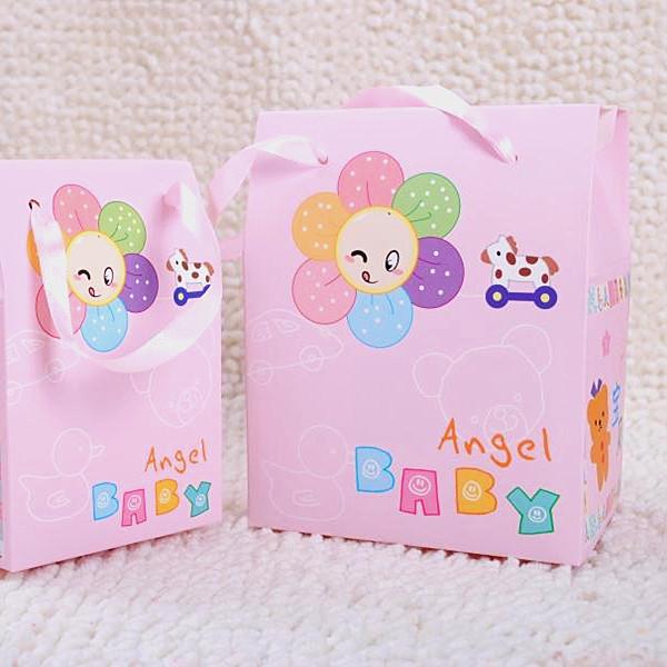 锦绣缘 宝宝满月礼品袋/我出生了礼盒/喜蛋/喜饼盒/baby喜糖盒子