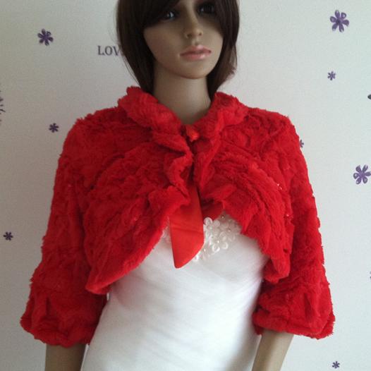 шарф Двойной мечта Янь настоящая зима шерсть платок невесты свадьба платье красный шерсти платок свадьба платье пальто