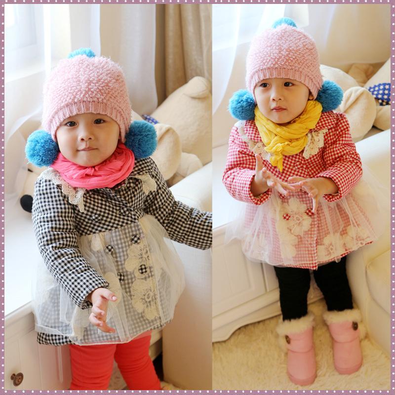 2013女童冬装新款韩版童