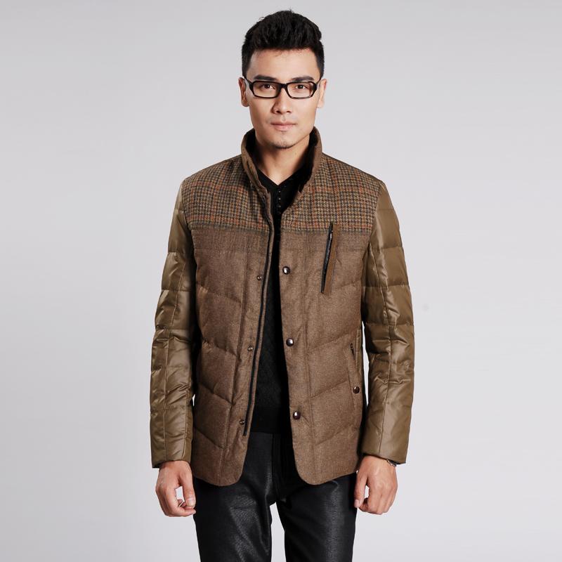 杉杉集团授权品牌 菲莱威尔 时尚男装外套 男式羽绒服图片