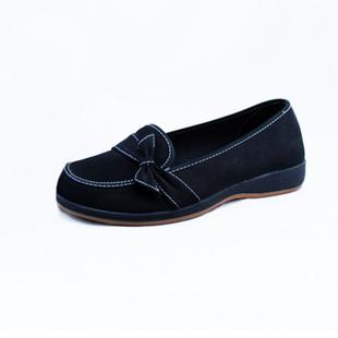 纳兰瑞祥新款老北京布鞋女鞋平跟单鞋工装鞋414243大码鞋妈妈鞋