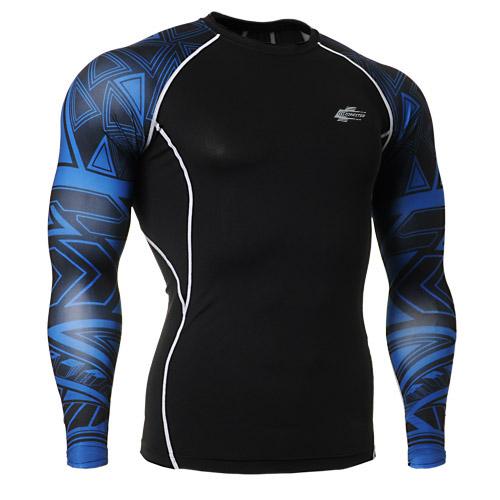 Одежда для фитнеса Leohester CPD/b1 PRO CPD-B1 Для мужчин Воздухопроницаемые, Суперэластичные, Быстросохнущие, Влагопоглощающие Универсальные ткани В обтяжку