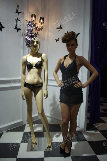 Торговое оборудование для одежды Фото съемки моделирования цвета белье нижнее белье модель реквизит, предметы одежды дисплей тела модели