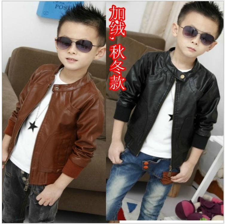 детская куртка Кики дома дети мальчики осень 2013 Новая детская кожаная куртка кожаная куртка Детская куртка корейская версия прилив y015 Для молодых мужчин