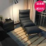 日式懒人沙发单人创意小户型折叠沙发椅榻榻米卧室阳台休闲躺椅子