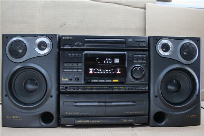 Japan Original Used Acoustic Classical Fever Iaiwai Aiwa NSX 990 Bookshelf Stereo System