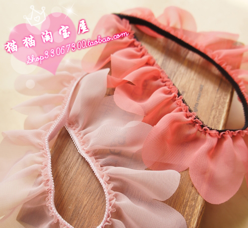 Бретельки 38 пост Корона кошка Южной Кореи красоты мой рюкзак мило лед крем Цветные лепестки воланами висит шею ремень разнообразие