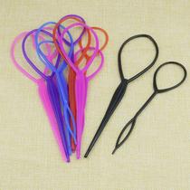 造型盘发器韩国工具丸子头百变蓬松头饰套装穿发针儿童成人发饰品