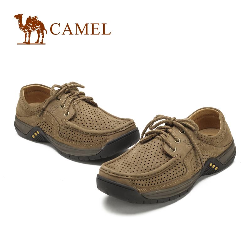 Демисезонные ботинки Camel 3086522 Для отдыха Верхний слой из натуральной кожи Круглый носок Шнурок Весна и осень