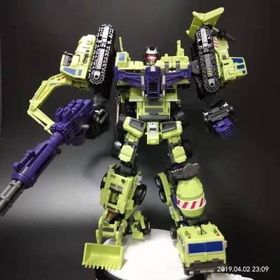 变形金刚MT大力神组合体礼盒装绿色KO版 带发光头雕特价促销包邮