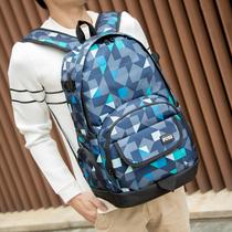 开学书包高中学生书包男女孩四六年级简约韩国百搭防水双肩包帆布