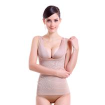 普维丝收腹塑身衣背心产后修复美体上衣塑腰收胃瘦身内衣