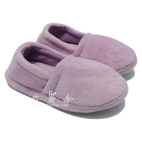 淘金币特价居家拖鞋馆 糖果纯色棉鞋 包跟 软底 月子鞋 棉拖鞋