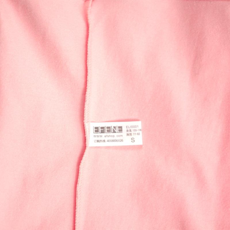 Пижама Efene Тканое полотно с подкладкой из хлопка Персонажи мультфильмов Свитер Для отдыха дома Девушки