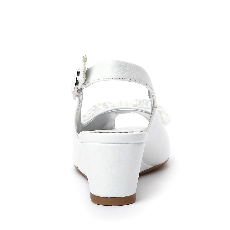 Босоножки Daphne 1130756 PU На высоком каблуке (6- 8 см) Искусственная кожа