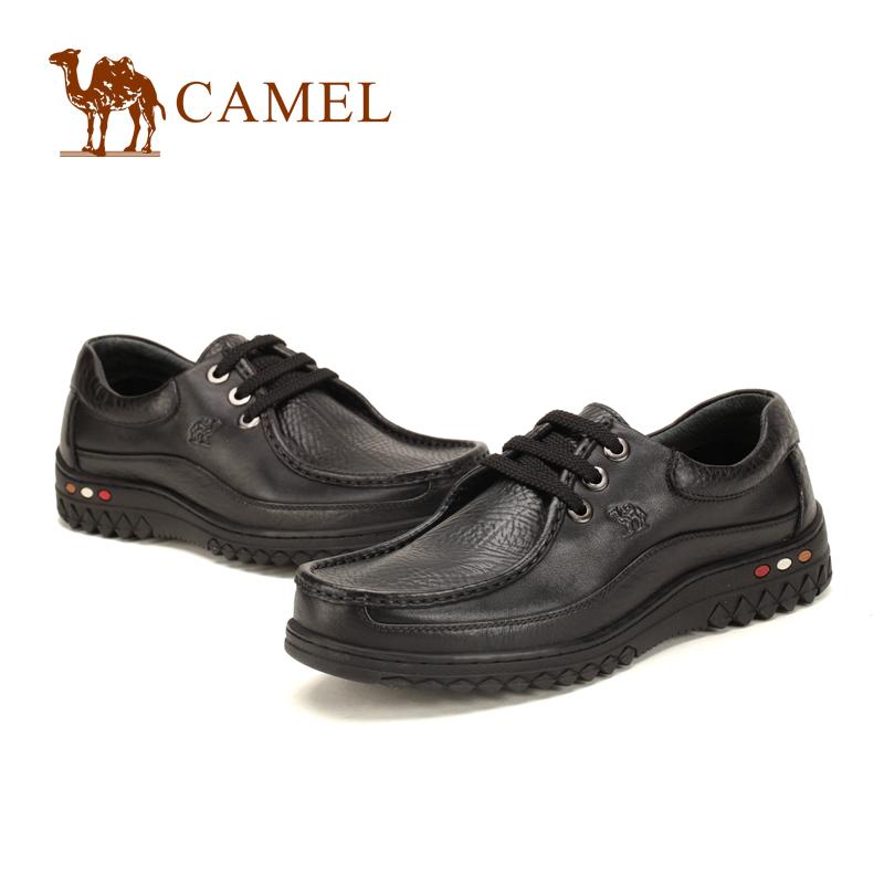 Демисезонные ботинки Camel 0610881. Tmall Для отдыха Кожа Круглый носок Шнурок Весна и осень
