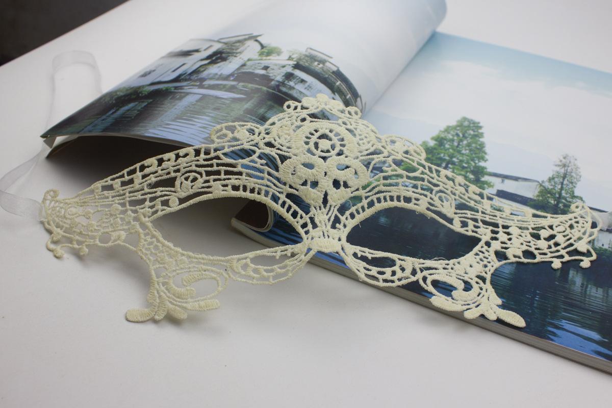 Кружева формируя маска маска вуаль вырез королевы сексуальная сексуальная сторона, черный мяч клуб очки