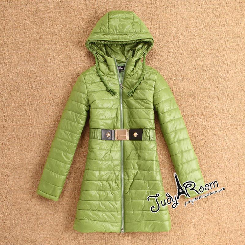 Женская утепленная куртка 199 399 Облегающий покрой Длинный рукав