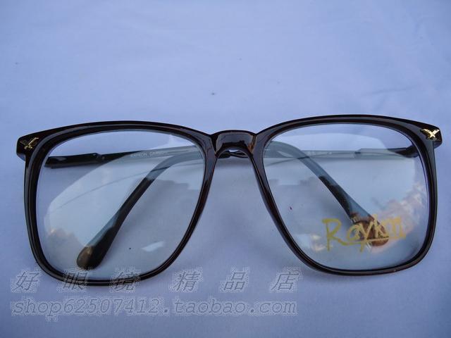 Компьютерные очки Ретро мода 2806 щедрые кадр очки кадр не мейнстримовых глаз поле украшения для мужчин и женщин черный tide