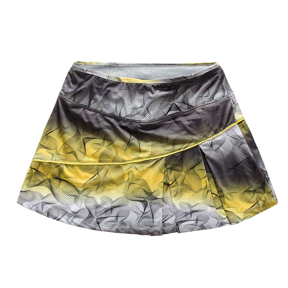 Цвет: Пункт пять желтых (5234b женщин юбка)