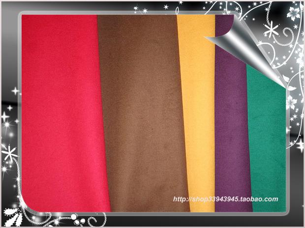Хлопчатобумажная ткань Шерстяная ткань Однотонный цвет Ткань для одежды