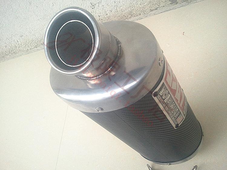 Выхлопная труба для мотоцикла Мотоцикл производительности под сиденье выхлопных Honda Кавасаки F5-6r 663 под подушку штуцерного ввода