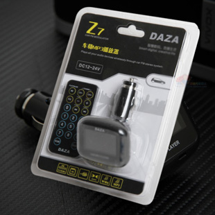 FM модулятор DAZA  Z7 MP3 1.5 MP3 AUX USB