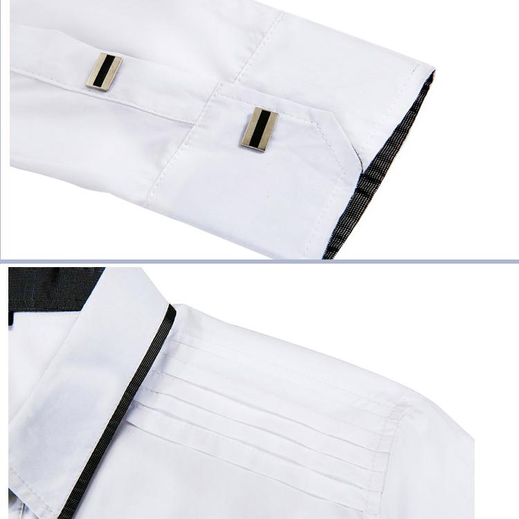 Рубашка мужская Kingpants 1556 Весна 2012 Воротник с пуговицами Длинные рукава ( рукава > 57см )