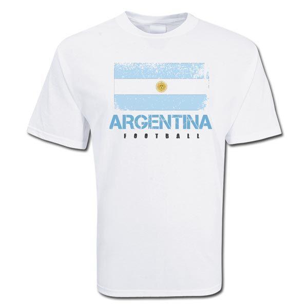 Спортивная футболка Other 529852 Heart Argentina Свободный Закругленный вырез Короткие рукава ( ≧35cm ) 100 хлопок Футбол Влагопоглощающая функция % С надписями