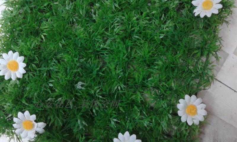 Искуственная трава С двойного шифрования четыре травы искусственные декоративные зеленый пластиковые газон газон ковер моделирование дома Грин