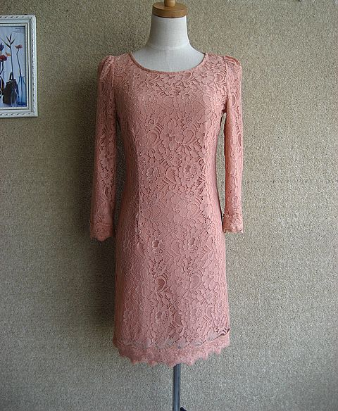 Женское платье Осень 2012 Кружево