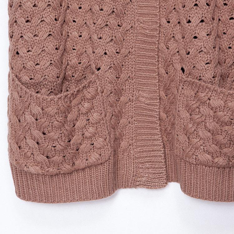 Свитер женский E.L Yi Linen kn600 2012 Другие материалы Осень 2012 Длинный рукав Другой тип рукава V-образный вырез