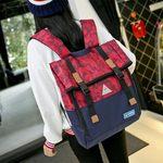 双肩包女韩版潮初中学生书包男背包休闲大容量情侣包15.6寸电脑包