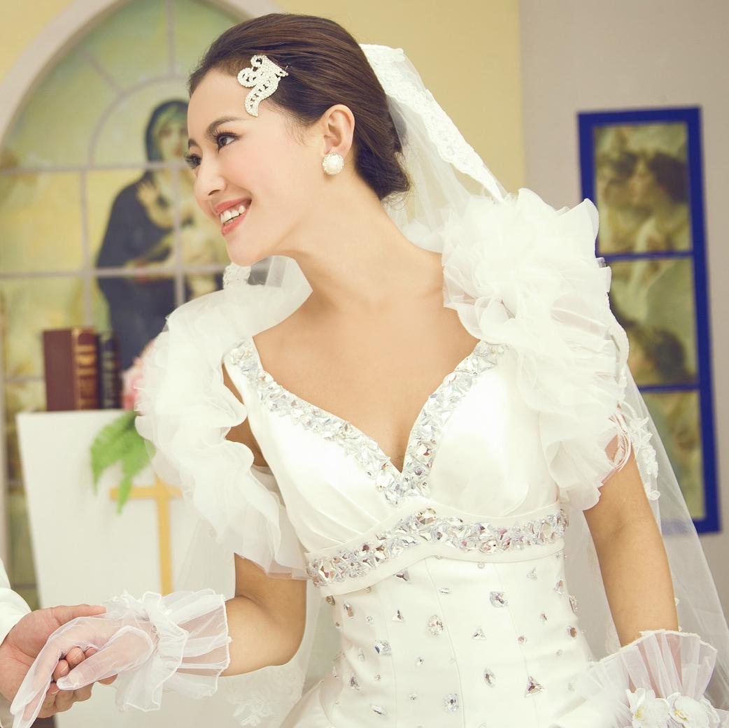Свадебное платье Princess tribe 2521 2012 2012 Атлас, сатин Длинный шлейф