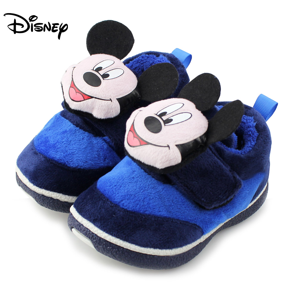 Disney children's shoes, baby shoes, boys and girls baby warm cotton padded shoes boots Dongkuan 1-3 years