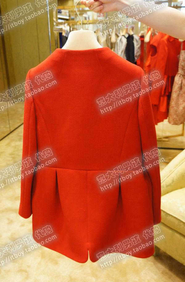 женское пальто 2012 MIUMIU Зима 2012 Средней длины (65 см <длины одежды ≤ 80 см) Длинный рукав Классический рукав