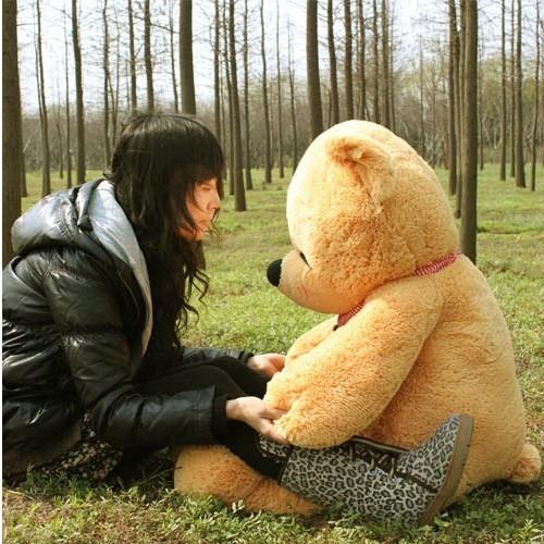 Цвет: Светло-коричневый сонный медведь