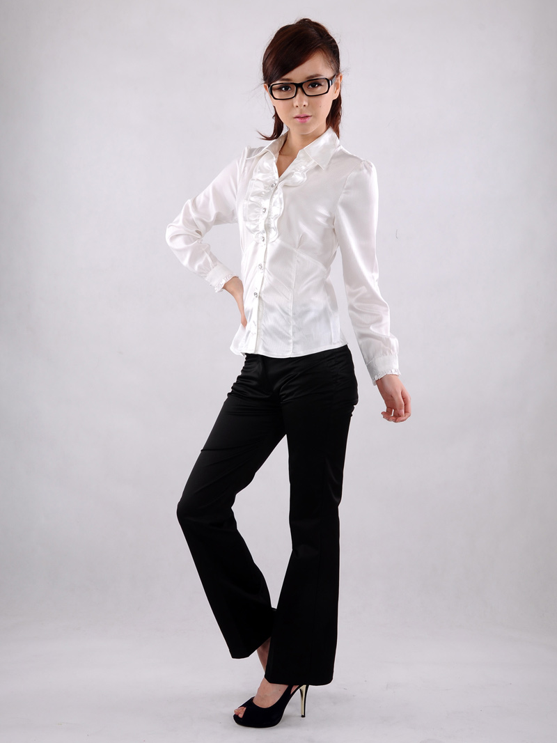 Original  Casual Women39s Pants For Business Work Slim Trousers FemaleChina