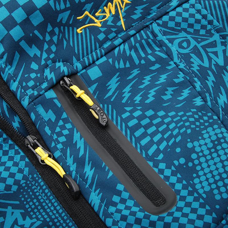 Куртка Jsmix x1144 Сатин Другие синтетические волокна Воротник с капюшоном Модная одежда для отдыха
