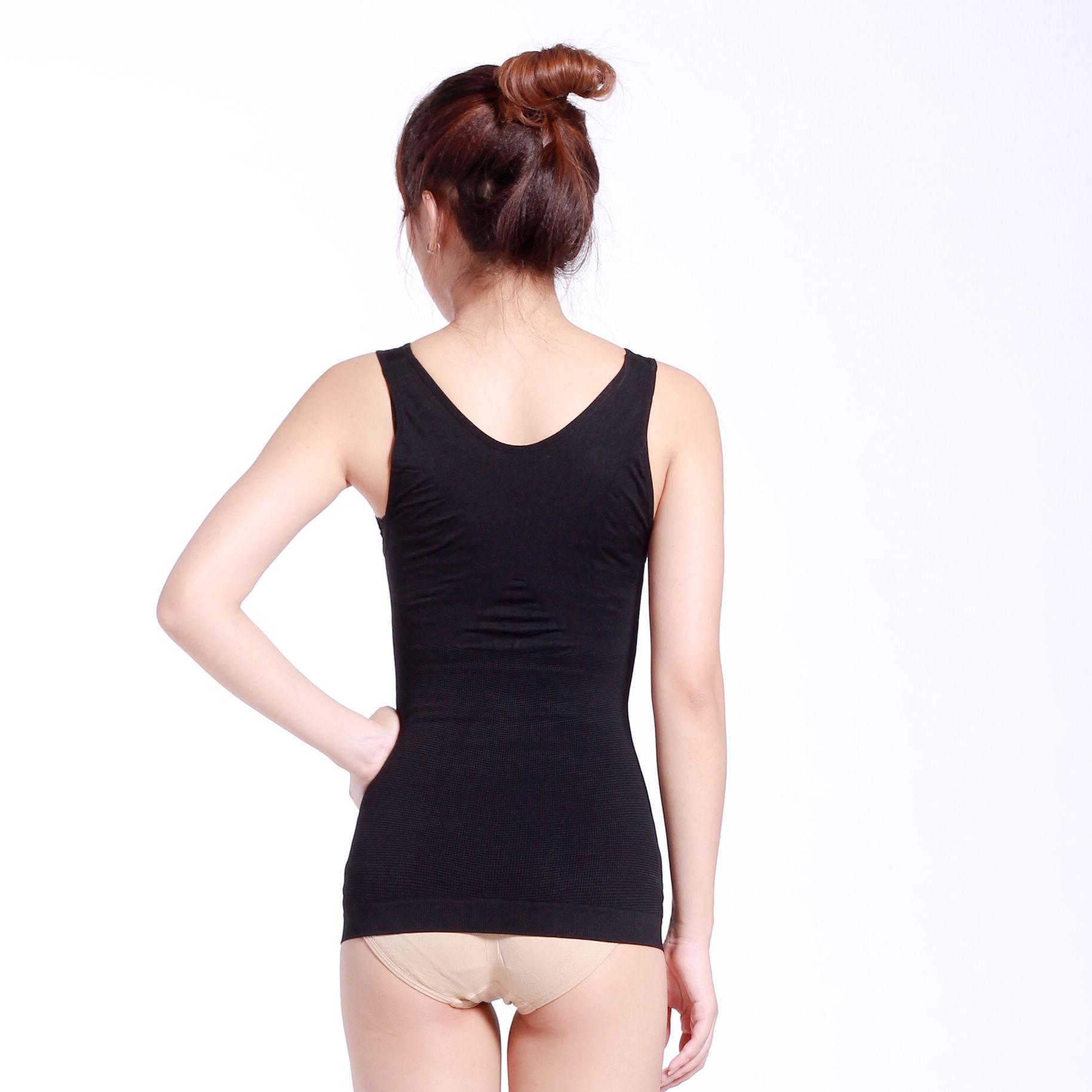 INSMANX美体塑身衣收腹时间女托胸瘦身收胃瘦背心每天做多长手臂图片